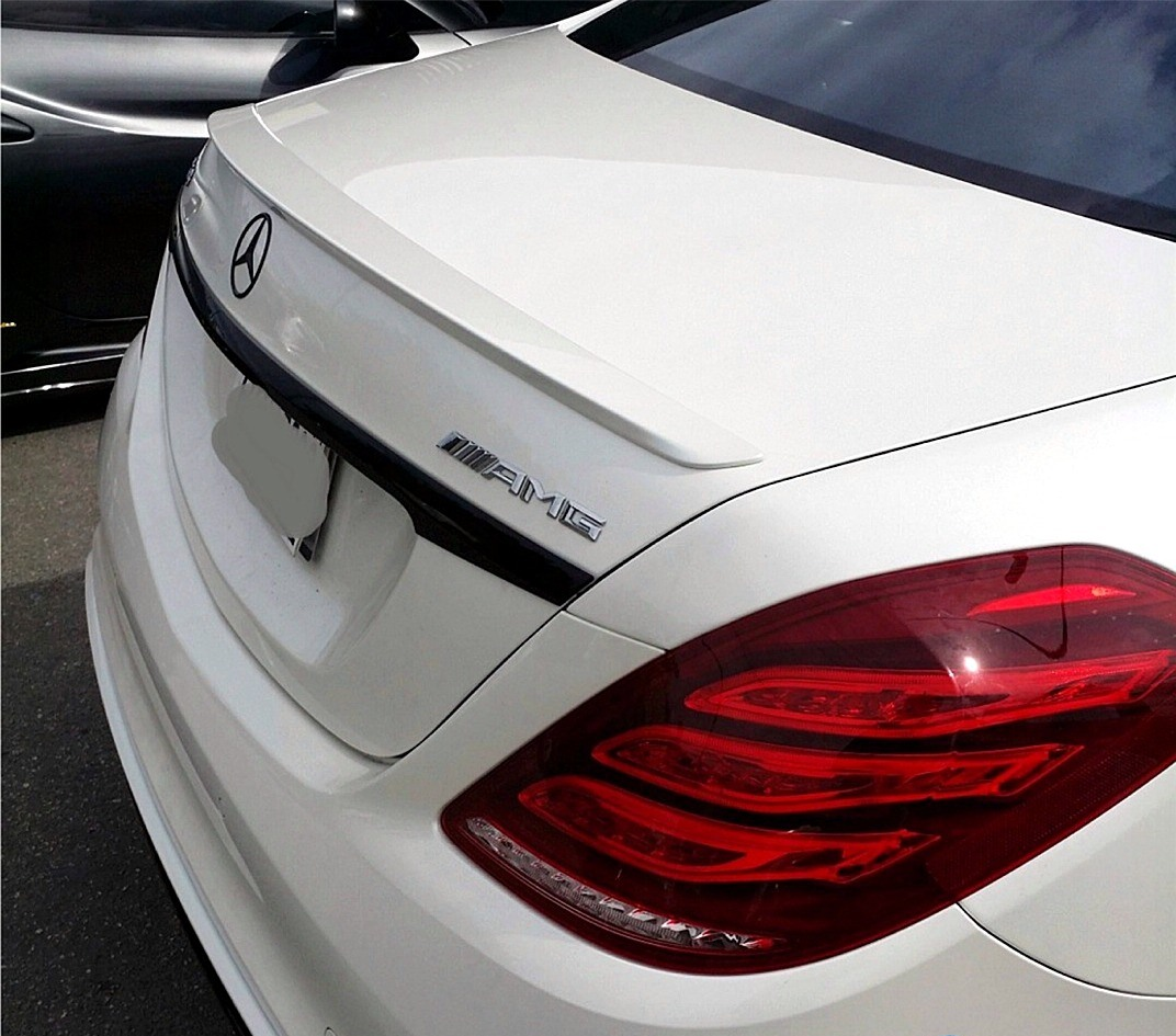 trunk spoiler mercedes benz s class w222 2014 up amg. Black Bedroom Furniture Sets. Home Design Ideas