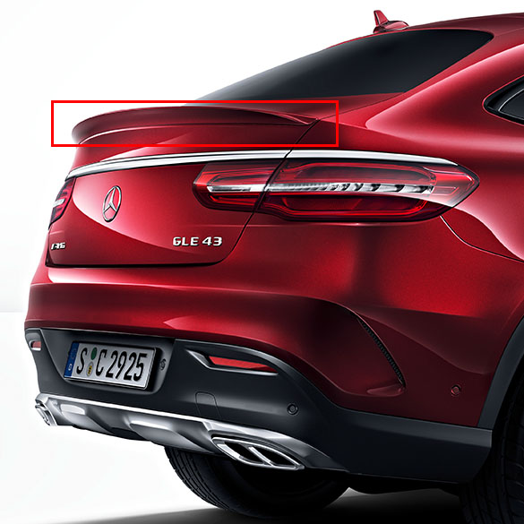 2016 Mercedes Benz Gle Coupe Exterior: 63 AMG Boot/Trunk Spoiler