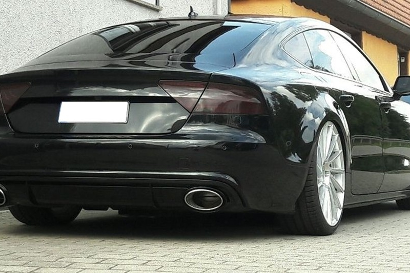Zoom Images: Audi A7 Custom Exhaust At Woreks.co
