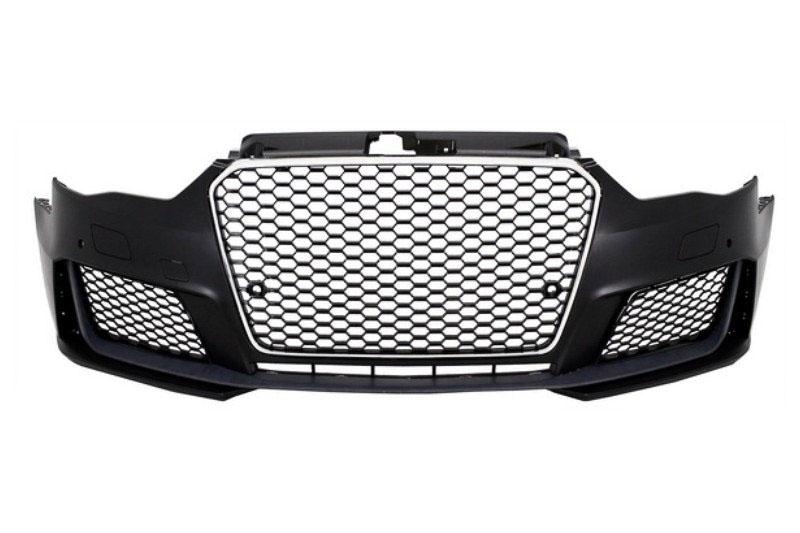 Front Bumper Audi A3 8V (2012-2017) RS look - ABS plastic
