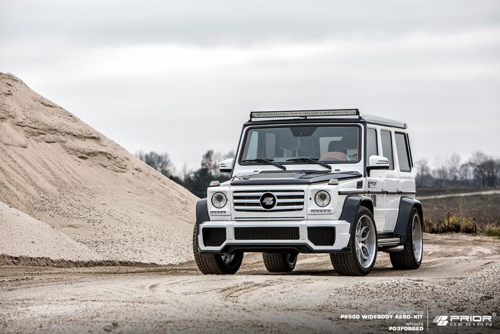 PD Front Bumper suitable for Mercedes G-Class [W463]