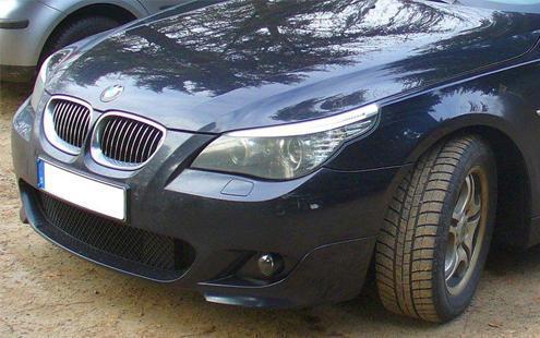 BMW 5 Series E60 E61 03-10 Front Bumper M-Tech M sport look