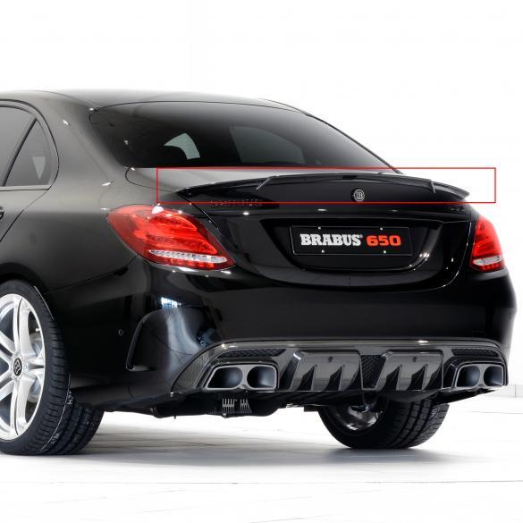 2012 Mercedes Benz M Class Body Structure: BRABUS CARBON REAR SPOILER MAT C63 AMG SEDAN MERCEDES-BENZ