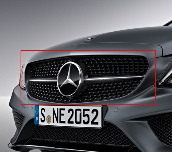 brand in selangor new benz htm parts grill mercedes accessories complete sale klang car for