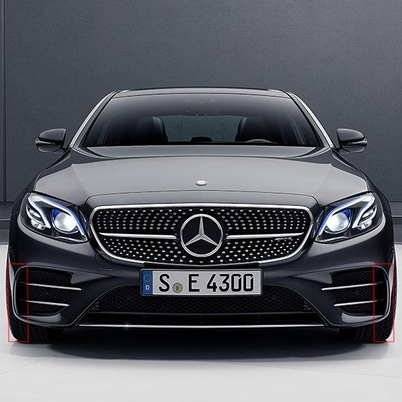 E 43 AMG flaps front bumper E-Class W213 genuine Mercedes-Benz
