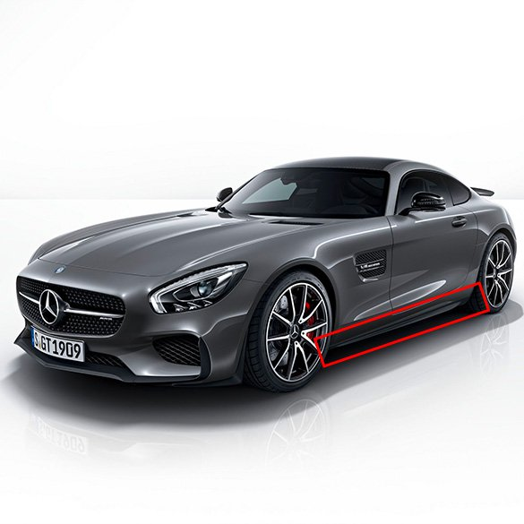2004 Mercedes Benz Sl Class Exterior: SIDE SKIRTS AERODYNAMICS PACKAGE AMG GT C190 EDITION 1