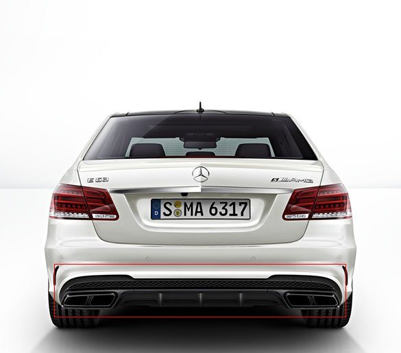 E 63 AMG NIGHT PACKAGE DIFFUSER and EXHAUST | MERCEDES-BENZ E-CLASS W212 |  RETROFIT PACKAGE