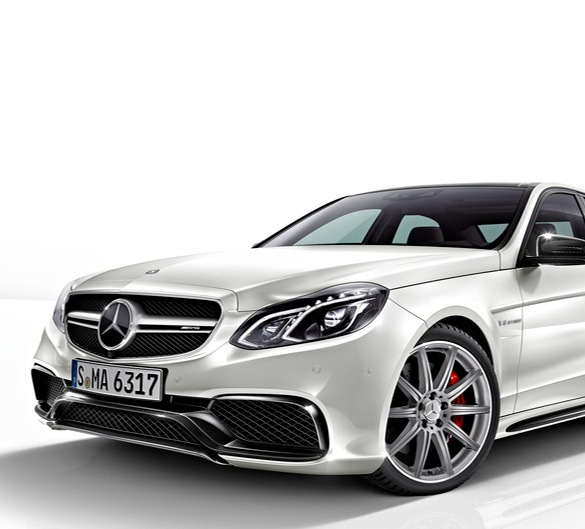 E 63 AMG FRONT APRON   NIGHT PACKAGE   ORIGINAL MERCEDES-BENZ