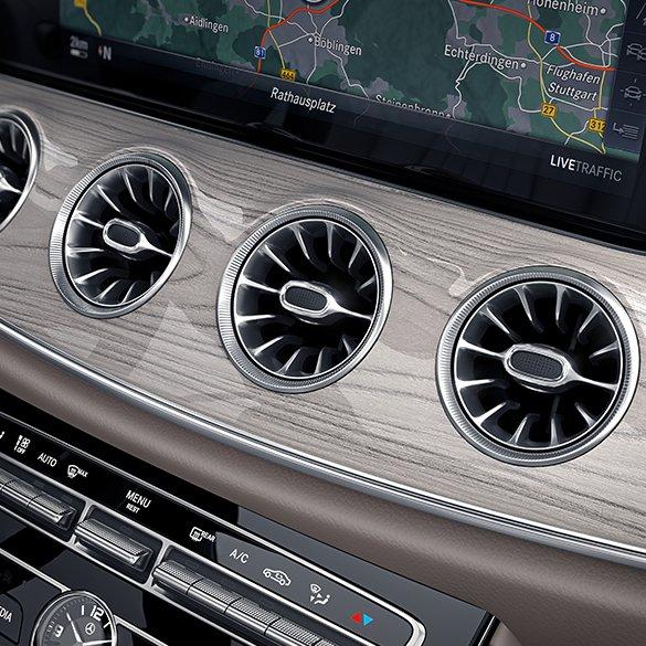 Mercedes Benz Service D: Air Vents In Turbine Optic E-Class W213 Original Mercedes-Benz