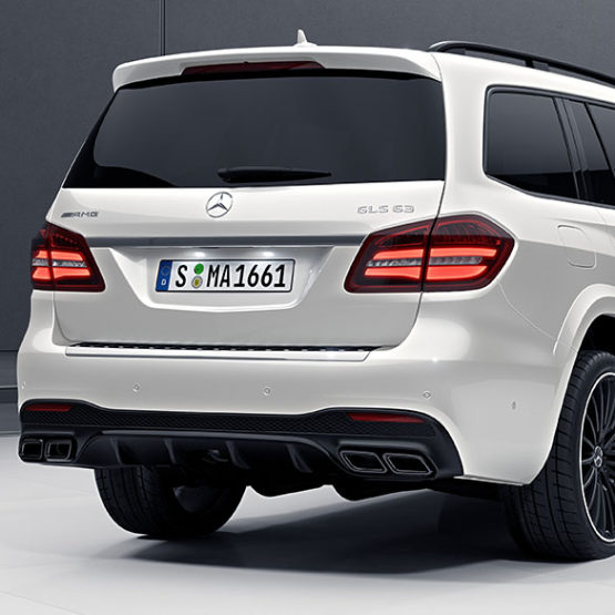 2012 Mercedes Benz M Class Body Structure: GLE 63 AMG Diffusor