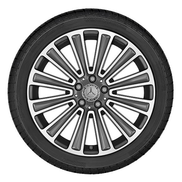 19 Inch Rim Set 12 Spoke Design Glc X253 Original Mercedes Benz