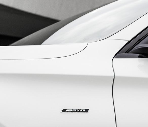 Amg Logo Fender Gle Suv W166 Genuine Mercedes Benz Lotparts