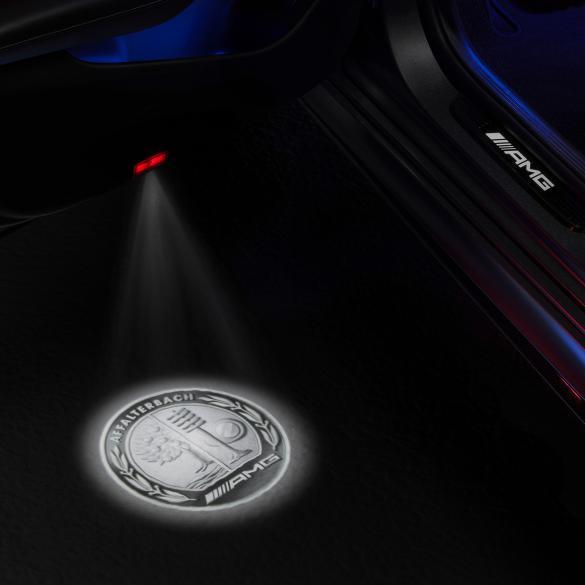 Amg Led Projector Door Lighting Genuine Mercedes Benz