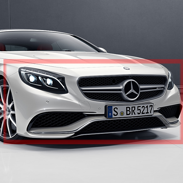 S 63 Amg Front Bumper S Class Coupe And Cabriolet Mercedes Benz C217 A217