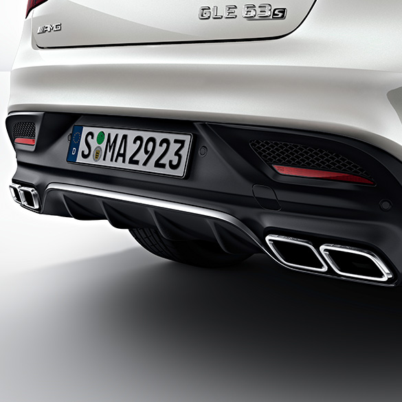 2016 Mercedes Benz Gle Coupe Exterior: GLE Coupe 63 AMG Rear Diffuser