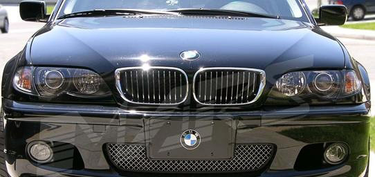 Front Grills Facelift Bmw 3 Series E46 4 Door 01 05 Full Chrome Color