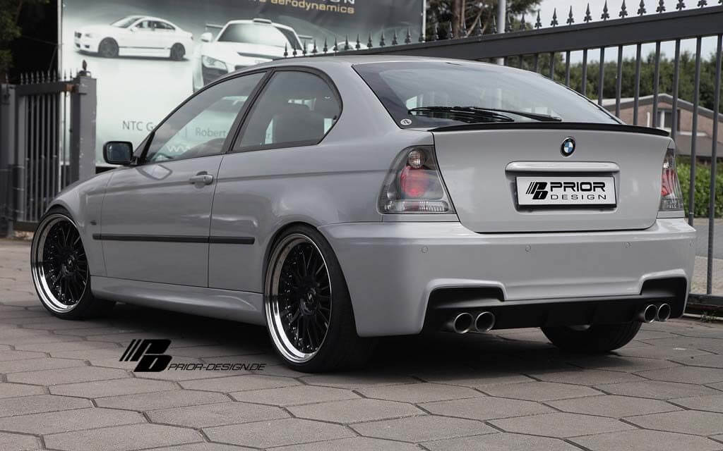 Prior Design Pd Mr Side Skirts Suitable For Bmw 3 Series E46 Compact Fl