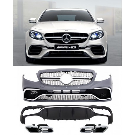 mercedes benz e class w213 2016 body kit amg look. Black Bedroom Furniture Sets. Home Design Ideas