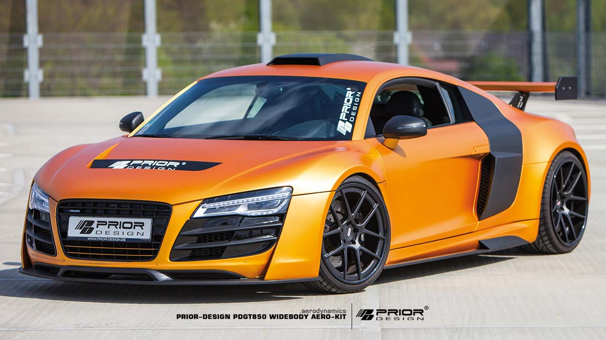 Pd Gt850 Widebody Aerodynamic Kit Suitable For Audi R8
