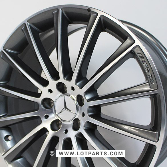 Genuine mercedes benz s class w222 amg multi spoke 20 for Mercedes benz 20 inch wheels