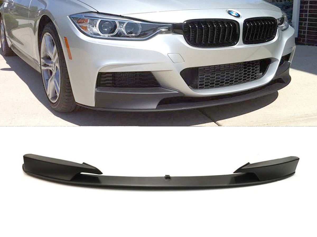 Front Bumper Spoiler Bmw 3 Series F30 F31 2011 M Performance Style 2004 Audi A8 Conversion Zoom Images